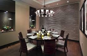 circular wood wall dining room winsome modern dining room decor ideas with funky