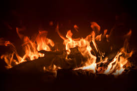 free stock photo of fire fireplace warm