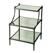 black side table with shelf black side table with shelves