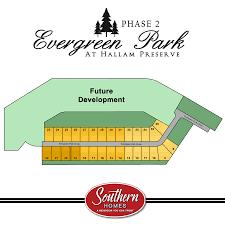 Scott Park Homes Floor Plans Evergreen Park Phase2 Png
