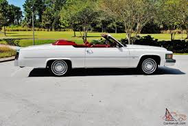 rare 1979 cadillac deville convertible hess ernhart 67ks 1 owner