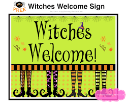 halloween printable sign door u2013 festival collections