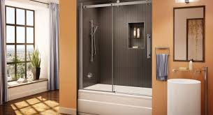 Trackless Bathtub Doors Shower Compact Sliding Doors For Bathrooms South Africa 37