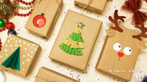 8 last minute gift wrapping ideas c for craft youtube
