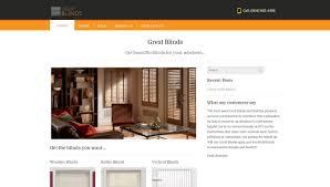 great blinds seo u0026 web design services surrey bc delta website