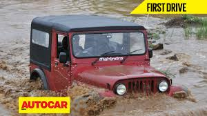 mahindra thar mahindra thar facelift video review autocar india