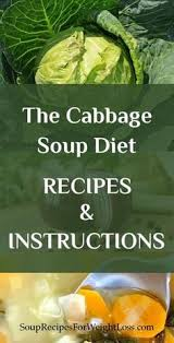 delicious cabbage soup recipe for weight watchers people who