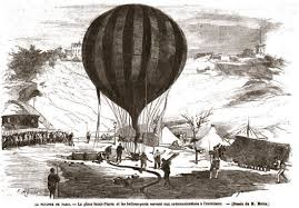 siege air during the siege of in 1870 a air balloon was used for