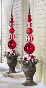 christmas topiary ornamental christmas finial topiary stake adorable home