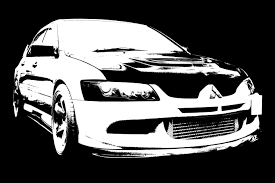 mitsubishi lancer drawing something different stencils mitsubishi lancer register forum
