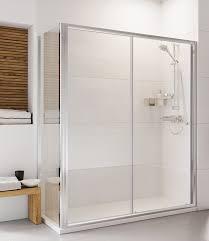roman haven 1500mm sliding shower door h3s15cs