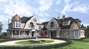 Mansion Home Plans by Hamptons Shingle Style House Plans Youtube
