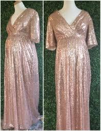 sequin maternity bridesmaids dress sequin bridesmaid rose