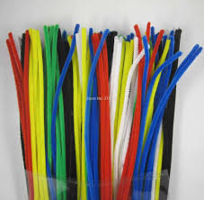 12 x 6mm pack mix color chenille stems pipe cleaners handmade diy