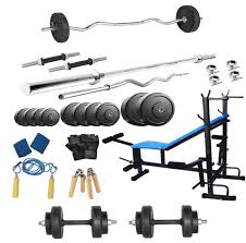 Bench 8 Buy Protoner Pr1008in 8 In 1 Rubber Bench Home Gym Package 100kg