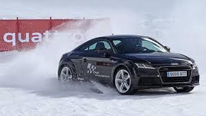 audi quattro driving experience audi winter driving experience aprendiendo seguridad
