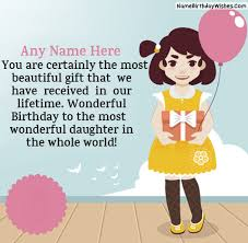 best birthday wishes for with name photo