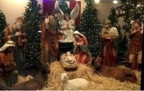 large indoor nativity sets foter