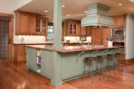green kitchen islands best kitchen colors gallery