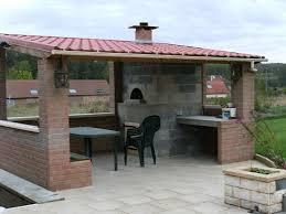 construire sa cuisine d été exceptionnel construire une pergola couverte 8 cuisine d ete