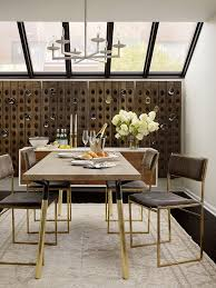 san francisco wall wine rack dining room transitional with