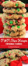 m u0026m rice krispie christmas cookies two sisters crafting