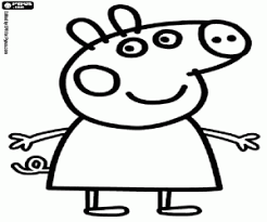 peppa pig coloring pages printable games