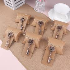 10pcs set bottle opener tags box wedding favors and gifts for