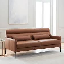 Leather Sofa Bed With Storage Luxury Brown Leather Sofa Bed 29 Faux With Storage And Cup Holders