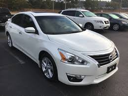 nissan altima ls 2016 15 altima sl technology package pearl white tan leather nissan of