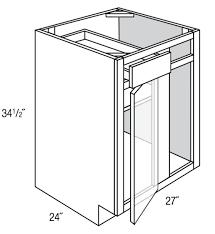 Kitchen And Bath Cabinets Wholesale Bbc36 39 Quincy Espresso Base Blind Corner Cabinet U2013 Wholesale