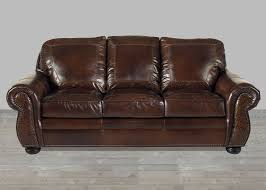 Leather Upholstery Sofa Anchor Bay Collection Top Grain Leather Sofa In Sg Oak With