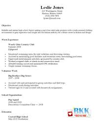 Simple Job Resume Samples by Examples Of Resumes 3 Job Resume Format For College Attendance