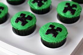 minecraft cupcake ideas how to throw a simple minecraft birthday party the kitchen magpie