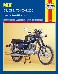 haynes manual mz es ets ts 150 u0026 250 69 89 each ebay