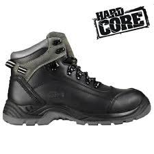 yakka s boots yakka grit work boots black elastic sided safety steel toe