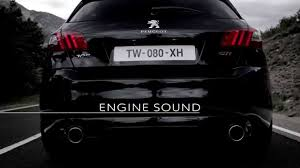 new peugeot sports car peugeot 308 gti by peugeot sport engine sound youtube