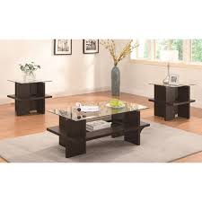 dark wood coffee table sets coffee tables black square coffee table glass end tables and white