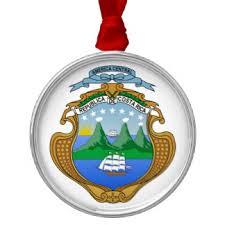 costa rica flag christmas tree decorations u0026 baubles zazzle co nz