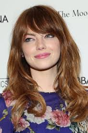 a frame hairstyles with bangs fringe hairstyles 2018 british vogue
