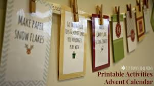 free printable advent activities calendar my joy filled life