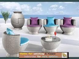 Lounge Patio Furniture Garden Furniture Ideas Outdoor Furniture Lounge Romance Youtube