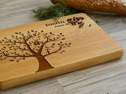 personalised cutting boards personalised cutting board tree wooden cutting boards by a