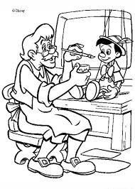 pinocchio coloring pages geppetto u0027s puppet coloring