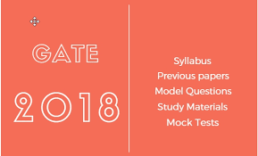 pattern of gate exam gate 2018 study guide with syllabus pattern and model papers