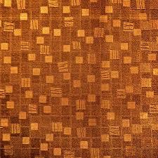Excepcional Papel de Parede PVC Metálico Quadrados Ouro Velho Kapa KP1006D na  @EG03