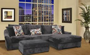 sofa gray sectional sofa with chaise awesome interior gorgeous
