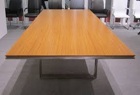 National Conference Table Modern New Veneer Teak Conference Table National Office