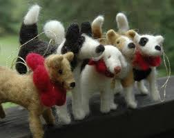 80 best felted dogs images on felt dogs needle