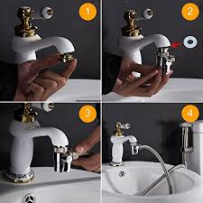 kitchen faucet splitter amazon com shinmor brass sink valve diverter faucet splitter for